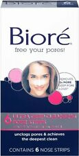 Biore Ultra Deep Cleansing Pore Strips Nose 6 Each