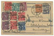 Echte Briefmarken-Ganzsachen aus dem Deutschen Reich (bis 1945)