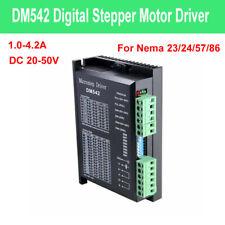 Dm542 2-phase Stepper Stepping Motor Driver Controller 20-50v DC for Nema57 86