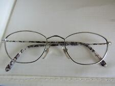 NOS Vintage Ray Ban B&L W2657 NTAS Gatsby Tea Cup Metal Marble Silver Gray Frame