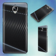 CARBON CARBON FIBER DARK DESIGN HARD BACK CASE FOR ONEPLUS PHONES
