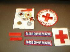 Red Cross memorabilia - badges, pins