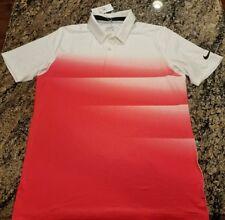 SALE Nike Golf Hyper Pink Polo Tee T-Shirt 854274 100 Dry Men's Medium