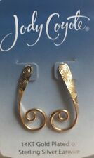 Jody Coyote Earrings JC0786 gold filled earwire HH143G made USA post