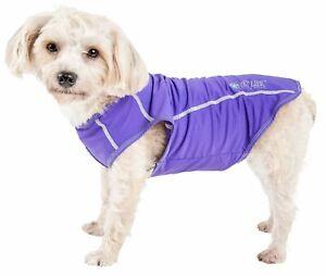 Pet Life  Active 'Racerbark' 4-Way Stretch Performance Active Dog Tank Top T-...
