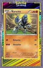 Karaclée - N&B: Noir et Blanc - 62/114 - Carte Pokemon Neuve Française