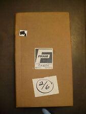 Fram Air Filter, CA3276, New