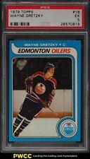 1979 Topps Hockey Wayne Gretzky ROOKIE RC #18 PSA 5 EX