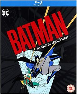 Batman The Animated Series complete Blu ray Box Set RB DC
