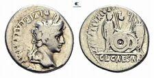 Savoca Coins Augustus Denarius Octavianus Caius Lucius 3,66 g / 19 mm F#AAA246