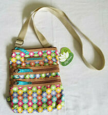 LILY BLOOM Karma Bloom Multi Section Crossbody Mini Shoulder Bag Purse New