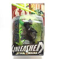 Hasbro Star Wars Unleashed Luke Skywalker New Sealed Action Figure 2004