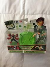 New Package Ben 10 Bandai Four Arms & Young Ben Figure Set