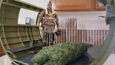 1/6 SOLDIER STORY DID 3R U.S. 82 ND 10ST AIRBORNE WW2 AND CAMOCHUTE /FUSELAGE