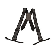 More details for oregon 537804 black chainsaw logger braces with straps for buttons