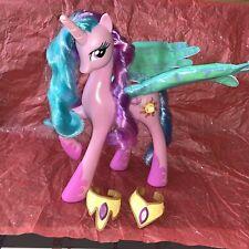 My Little Pony Talking Princess Celestia SEE VIDEO 21455 Light Up Wings
