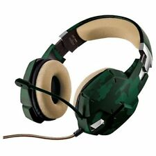 Trust auriculares con microfono Gaming Gxt 322c verde Camuf