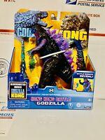 """Godzilla vs Kong Hong Kong Battle Godzilla Damage Reveal Playmates 6"""" Figure!"""