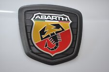 New Genuine Emblem Fiat 500 Abarth 595 Competizione Black LOGO Rear Badge