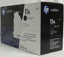 HP GENUINE 11A LASERJET BLACK PRINT CARTRIDGE FOR 2410 2420 2430 PRINTERS - NEW