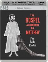 The Gospel According To Matthew Blu-Ray + DVD Nuevo Blu-Ray (EKA70046)