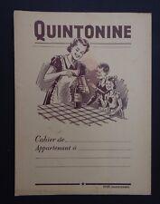 Protège cahier QUINTONINE Marron Wachbuch copybook cover
