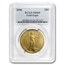 2006 1 oz Gold American Eagle MS-69 PCGS - SKU #20520