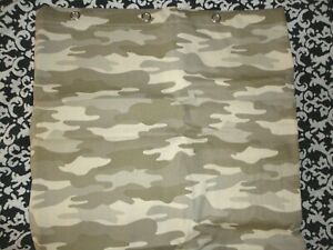 TARGET 07 COLLEGE CAMOUFLAGE GREEN (1) SHOWER CURTAIN 72 X 72 HUNTING LODGE