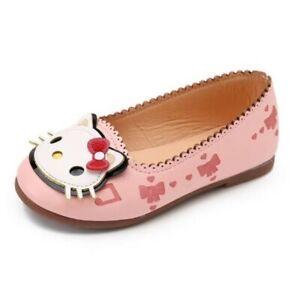 Mädchen Ballerina Slipper Schuhe Kitty rosa Gr. 27 16,5 cm Ultraleicht & Biegsam