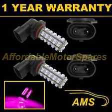 2X HB3 9005 Rosa 60 Led Ant. Lampadine per Fari Fendinebbia Supplementari Kit