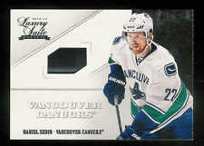 2012-13 PANINI LUXURY SUITE DANIEL SEDIN STICK VANCOUVER CANUCKS