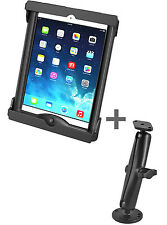 RAM Flat Surface/Drill Down Mount for iPad Pro 9.7, for use w/o Case or Sleeve