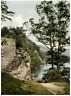 Lake District. Ullswater Stybarrow Crag.  PZ vintage photochromie, England pho