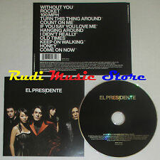 CD EL PRESIDENTE Omonimo 2005 eu SONY 82876710712 lp mc dvd