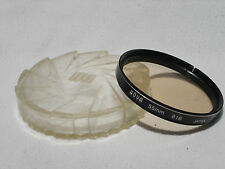 HOYA 55mm  81B  filter with case and box. Japan.  81 B