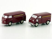 """Schuco Piccolo Set """"idee + spiel 2001"""" VW T1 Kasten / DKW Schnellaster #50520200"""