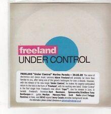 (BK573) Freeland, Under Control - 2009 DJ CD