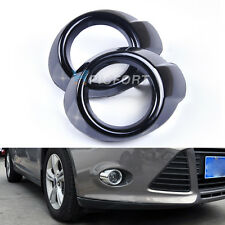 2pcs Front Fog Light Lamp Mask Frame Ring Cover Trim fit for 2012 ford focus