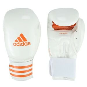 adidas Fpower 200 PowerGel FITNESS Training Boxing Gloves High Quality A/Leather