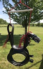 Pony Pal Tire Horse Swing Saddle Rider Outdoor Toy Swing Set Parts
