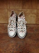 WOMEN'S CONVERSE ALL STAR CANVAS SNEAKERS-SIZE: 6