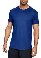 Under Armour Mens Shirt Blue Size Small S Activewear Short Sleeve $35 #011