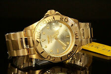 Invicta Men Pro Diver NH35 Automatic 24 Jewel 18K Gold Plated S.S Bracelet Watch