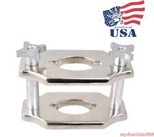Dental Lab Standard Reline Jig Single Compress Press Laboratory Equipment Chrome