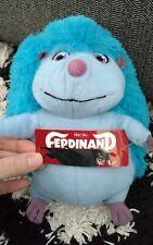 "10"" FERDINAND Movie Cuatro Hedgehog Plush Stuffed Toy Factory Tags Blue Sky Doll"