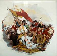 Battle of Bunker Hill John Trumbull Historic Decorative Collector's Tile