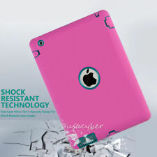 lot Case For iPad2 3 4 Mini1/2/3 Mini4 Air Shockproof Hybrid Heavy Duty Rubber
