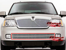 Fits Lincoln Navigator Bumper Stainless Mesh Grille 05-06