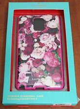 100% Authentic Kate Spade NY case cover for Samsung Note 4 Botanical Roses Pink