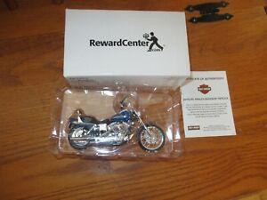 Maisto Diecast Harley Davidson Replica Motorcycle 2004 Reward Center New Open